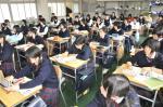 高校デザイン科授業参観【2】