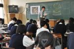高校デザイン科授業参観【1】