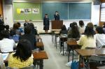 本校生徒による英語スピーチ|体験入学会