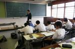 野間中学校体験入学【13】