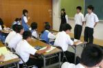 野間中学校体験入学【22】