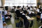 粕屋東中学校体験入学【7】