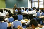 三宅中学校・須恵東中学校体験入学【1】