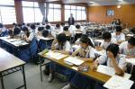 三宅中学校・須恵東中学校体験入学【8】