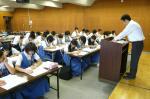 三宅中学校・須恵東中学校体験入学【10】
