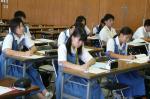 横手中学校体験入学【14】