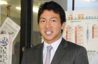 長野選手巨人軍入団報告のため来校【2】