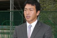 長野選手巨人軍入団報告のため来校【22】