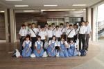 平成22年度 体験入学東住吉中学校