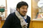 2009年12月:松嶋啓介<卒業生>さん来校。