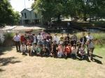 エイボン川でのカヌー体験
