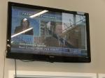 TVでの地震報道