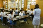 平成23年度 体験入学(甘木中学校)【9】