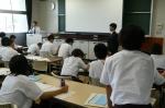 平成23年度 体験入学(春日中学校)【19】