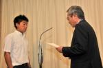 3年男子サッカー 優勝 中高一貫科3年B組