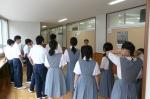 平成23年度 体験入学(大利中学校)【24】