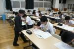 平成23年度 体験入学(大利中学校)【12】