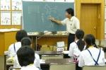 平成23年度 体験入学(天拝中学校)【10】