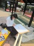 平成24年度 校外スケッチ<中学2年生>【12】