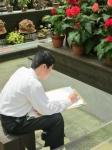平成24年度 校外スケッチ<中学2年生>【1】