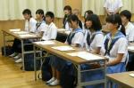 平成24年度 体験入学<三輪中学校>【3】