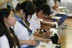 平成24年度 体験入学<三輪中学校>【9】
