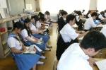 平成24年度 体験入学<三輪中学校>【10】