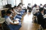 平成24年度 体験入学<三輪中学校>【12】