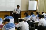 平成24年度 体験入学<三輪中学校>【18】