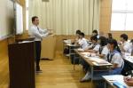 平成24年度 体験入学<三輪中学校>【19】