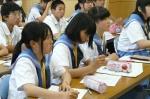 平成24年度 体験入学<三輪中学校>【21】