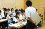 平成24年度 体験入学<大野中・夜須中・太宰府中>【30】