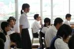 平成24年度 体験入学<日佐中学校・老司中学校・春日中学校>【13】