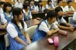 平成24年度 体験入学<日佐中学校・老司中学校・春日中学校>【18】