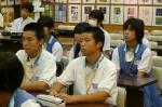 平成24年度 体験入学<日佐中学校・老司中学校・春日中学校>【19】