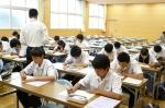平成24年度 体験入学<甘木中学校>【8】