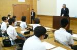 平成24年度 体験入学<筑山中学校>【2】