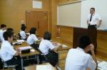 平成24年度 体験入学<筑山中学校>【7】