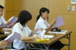 平成24年度 体験入学<筑山中学校>【8】