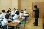 平成24年度 体験入学<筑山中学校>【12】