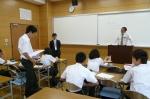 平成24年度 体験入学<筑山中学校>【29】