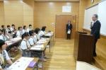 平成24年度 体験入学<宇美中学校>【3】