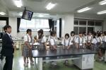 平成24年度 体験入学<宇美中学校>【10】