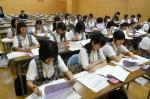 平成24年度 体験入学<宇美中学校>【18】