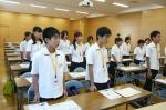 平成24年度 体験入学<三国中学校>【3】