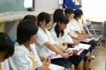 平成24年度 体験入学<三国中学校>【14】