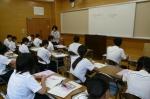 平成24年度 体験入学<三国中学校>【22】