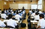 平成24年度 体験入学<春日東中学校>【2】