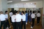 平成24年度 体験入学<春日東中学校>【7】