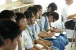 平成24年度 体験入学<春日東中学校>【16】